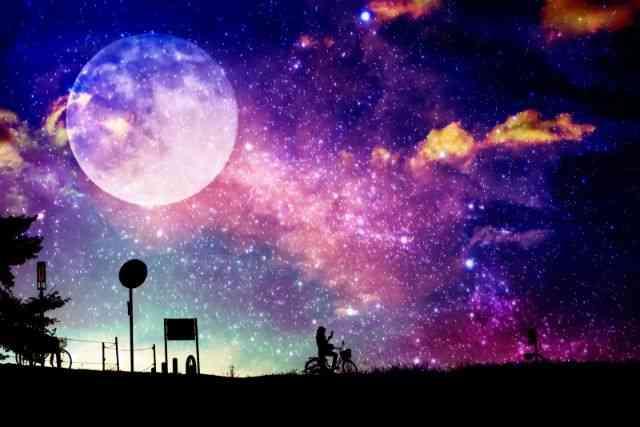 新月と満月